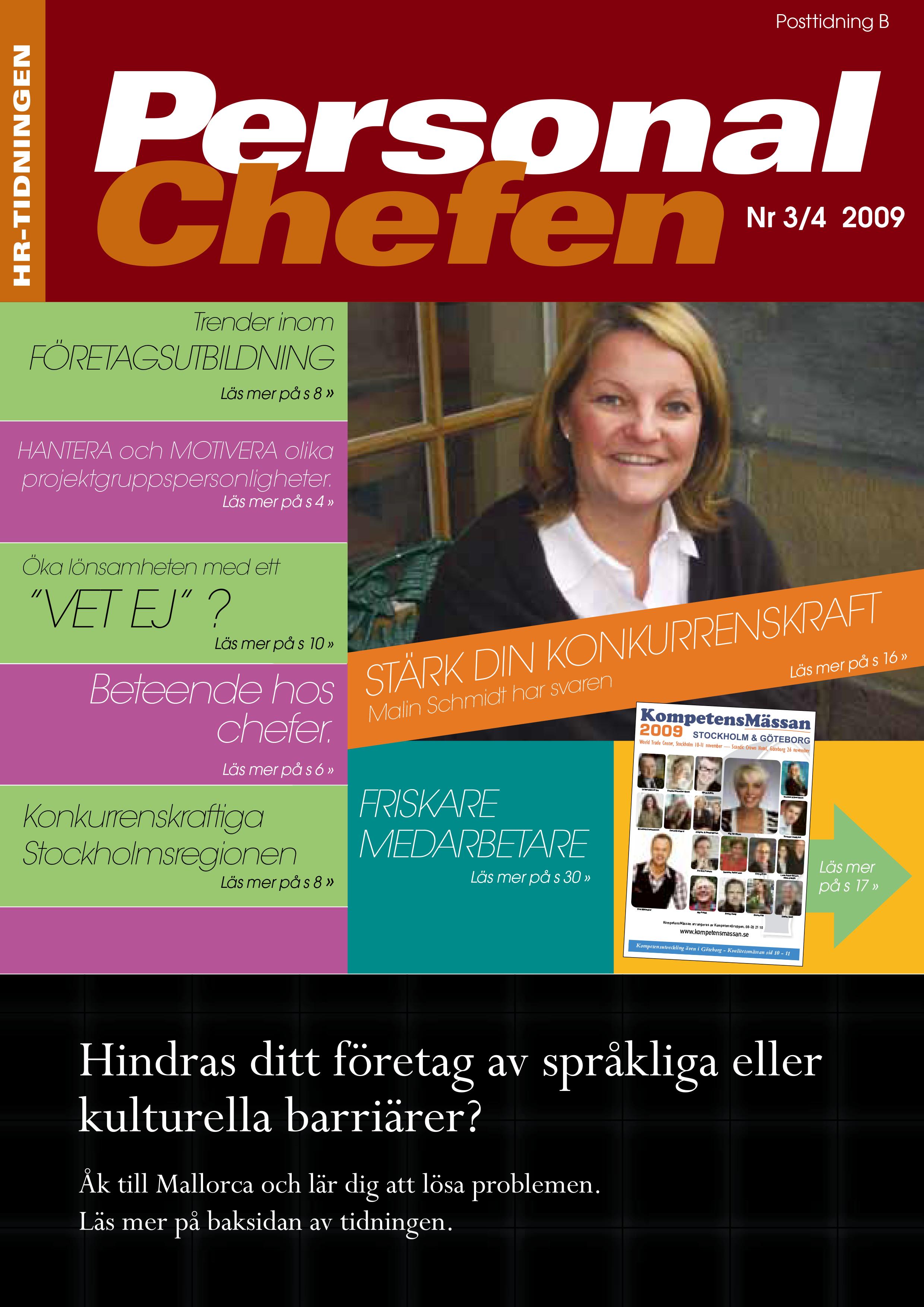 Personalchefen nummer 3:2009