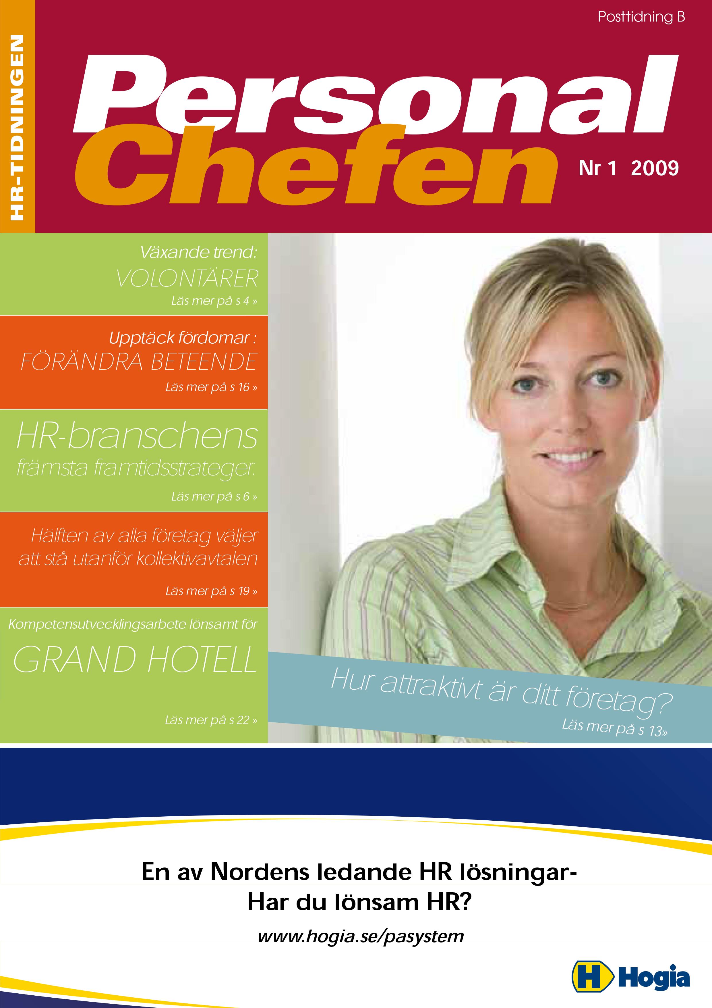 Personalchefen nummer 1:2009